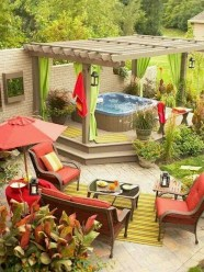 Beautiful Tropical Outdoor Decoration For Cozy Place 11