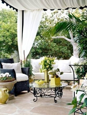 Beautiful Tropical Outdoor Decoration For Cozy Place 15
