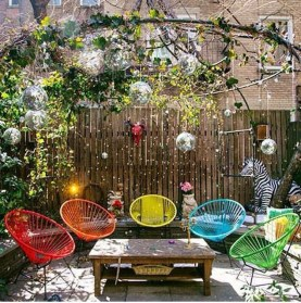 Beautiful Tropical Outdoor Decoration For Cozy Place 22