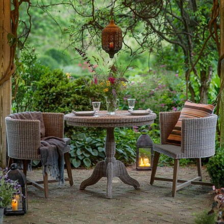 Beautiful Tropical Outdoor Decoration For Cozy Place 32