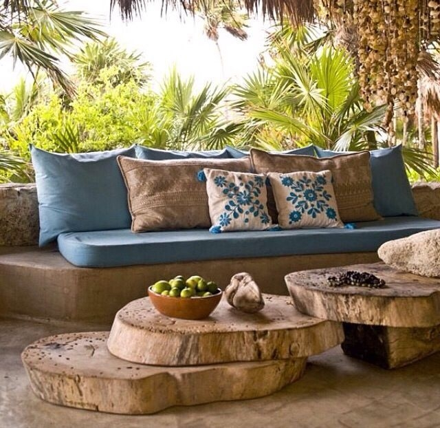 Beautiful Tropical Outdoor Decoration For Cozy Place 36