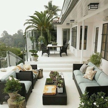 Beautiful Tropical Outdoor Decoration For Cozy Place 39