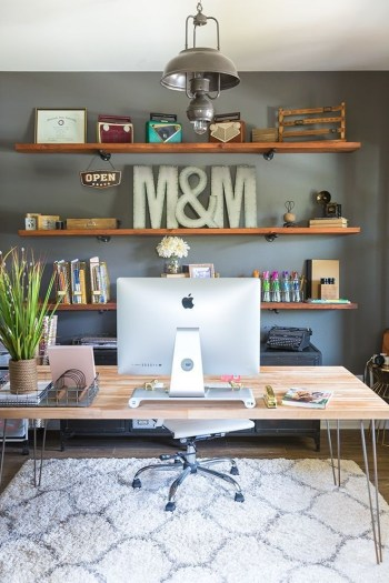 Best Decorating Ideas For Home Office Design 03