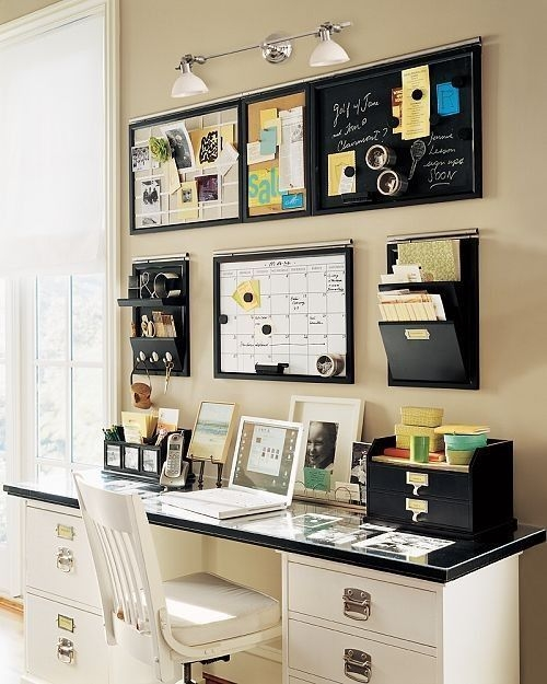 Best Decorating Ideas For Home Office Design 07