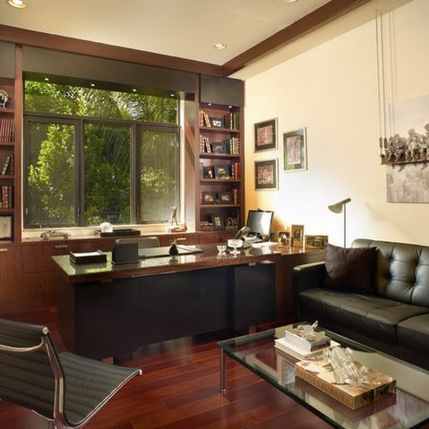 Best Decorating Ideas For Home Office Design 14