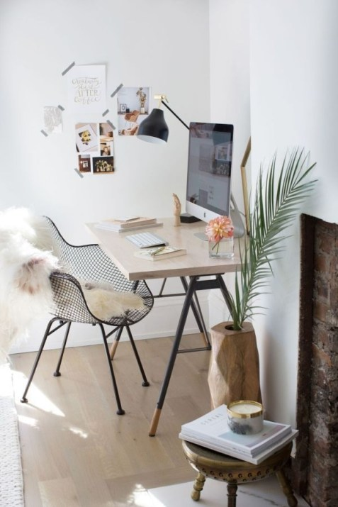 Best Decorating Ideas For Home Office Design 15