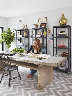 Best Decorating Ideas For Home Office Design 34