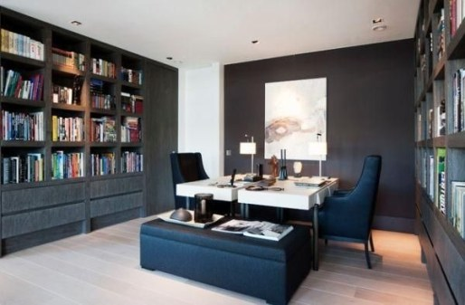 Best Decorating Ideas For Home Office Design 44