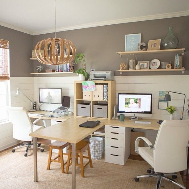 Best Decorating Ideas For Home Office Design 47
