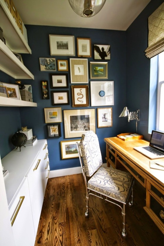 Best Decorating Ideas For Home Office Design 49