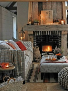 Best Decorating Ideas For Winter Fireplace 01