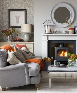 Best Decorating Ideas For Winter Fireplace 12