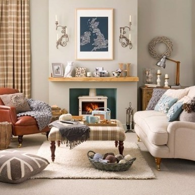 Best Decorating Ideas For Winter Fireplace 20