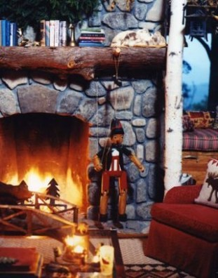 Best Decorating Ideas For Winter Fireplace 51