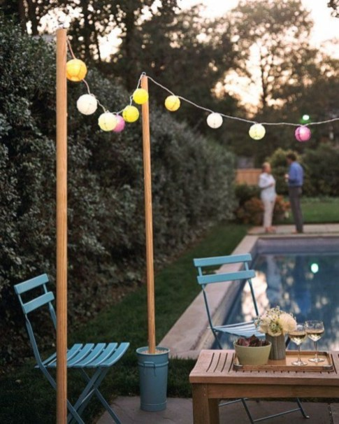 Best Garden Decorate With Some DIY Hanging Lights 11