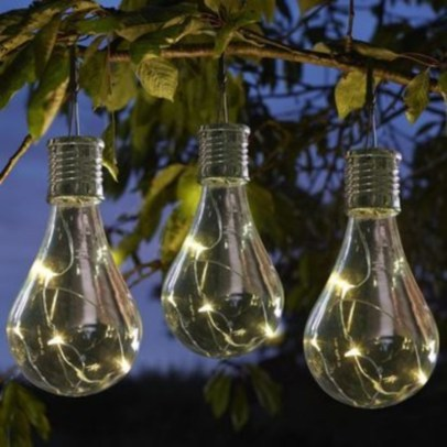 Best Garden Decorate With Some DIY Hanging Lights 17