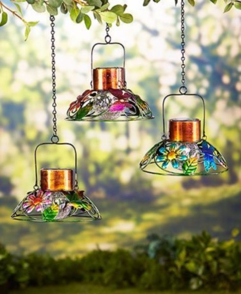 Best Garden Decorate With Some DIY Hanging Lights 20
