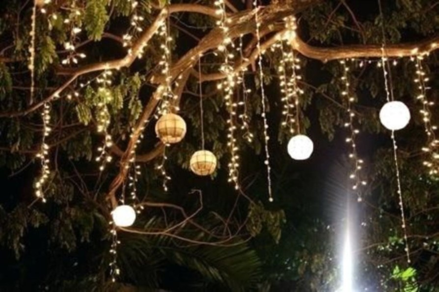 Best Garden Decorate With Some DIY Hanging Lights 23