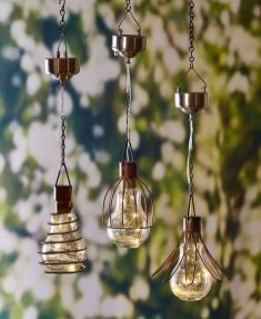 Best Garden Decorate With Some DIY Hanging Lights 30