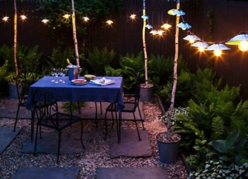 Best Garden Decorate With Some DIY Hanging Lights 37