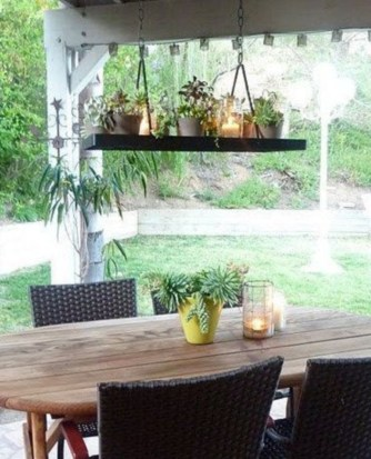 Best Garden Decorate With Some DIY Hanging Lights 51