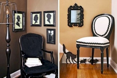 Best Ghost Silhouette DecorIideas To Haunt Your Guests 14