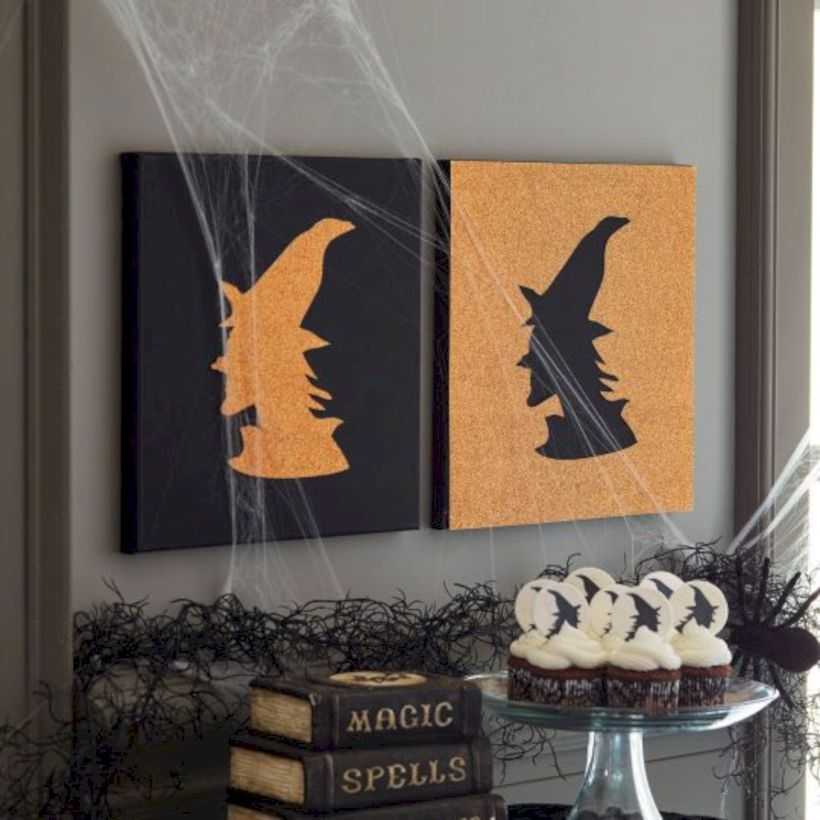Best Ghost Silhouette DecorIideas To Haunt Your Guests 41