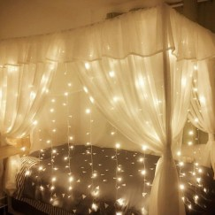 Better Homes And Gardens With Outdoor LED Curtain Lights 16