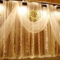 Better Homes And Gardens With Outdoor LED Curtain Lights 17