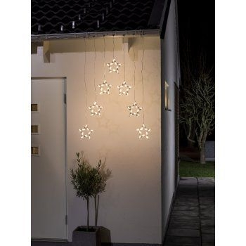 Better Homes And Gardens With Outdoor LED Curtain Lights 24