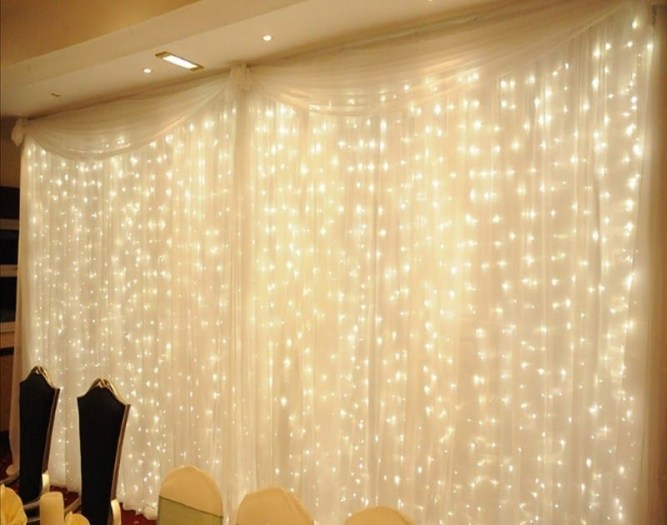 Better Homes And Gardens With Outdoor LED Curtain Lights 26