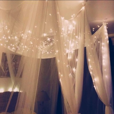 Better Homes And Gardens With Outdoor LED Curtain Lights 40