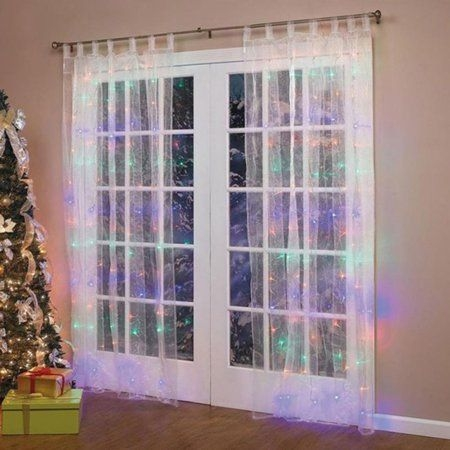 Better Homes And Gardens With Outdoor LED Curtain Lights 45