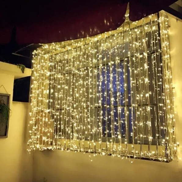 Better Homes And Gardens With Outdoor LED Curtain Lights 47