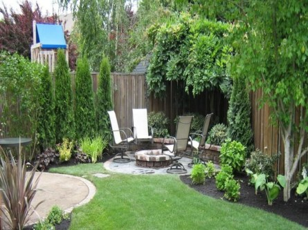 DIY Wood Project For Landscaping Backyard Ideas 02