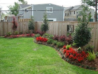 DIY Wood Project For Landscaping Backyard Ideas 30