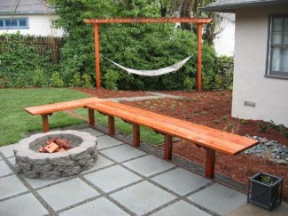 DIY Wood Project For Landscaping Backyard Ideas 33