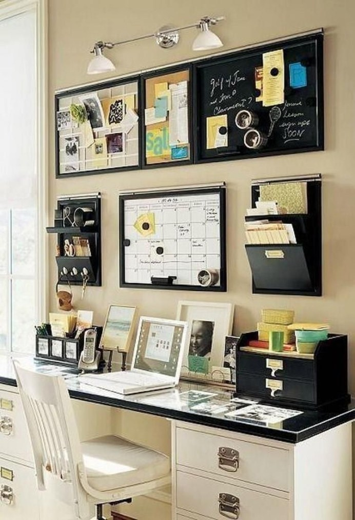 Easy Tips To Organize Your Home Office In Order To Be A Comfortable Place 22