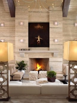 Favorite Winter Decorating For Fireplace Ideas 30