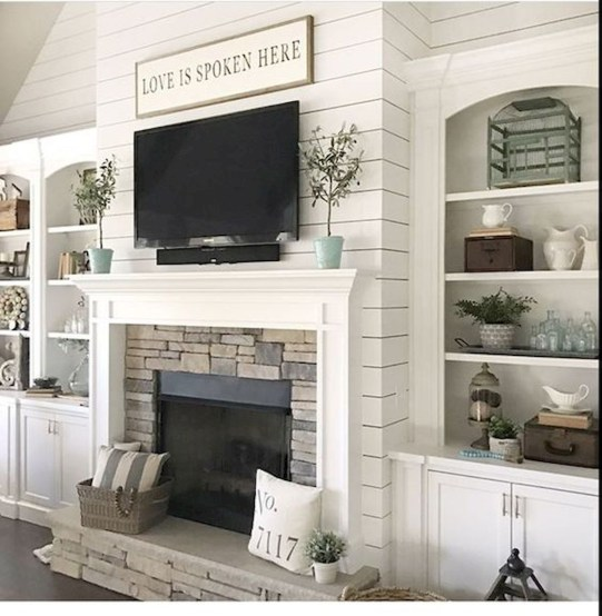 Favorite Winter Decorating For Fireplace Ideas 37