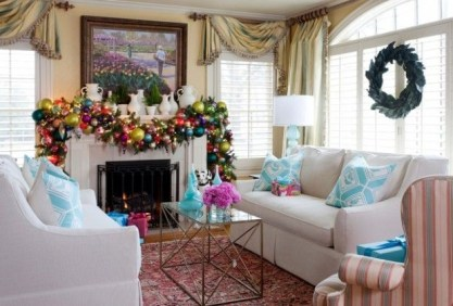 Gorgeous Christmas Mantel For Fireplace Decorate In Your House 13