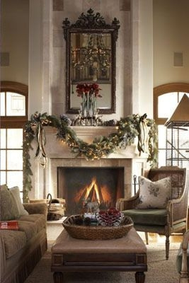 Gorgeous Christmas Mantel For Fireplace Decorate In Your House 19
