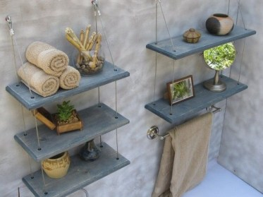 Hanging Shelves Decoration You Can Put In Your Wall 27