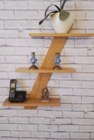 Hanging Shelves Decoration You Can Put In Your Wall 46