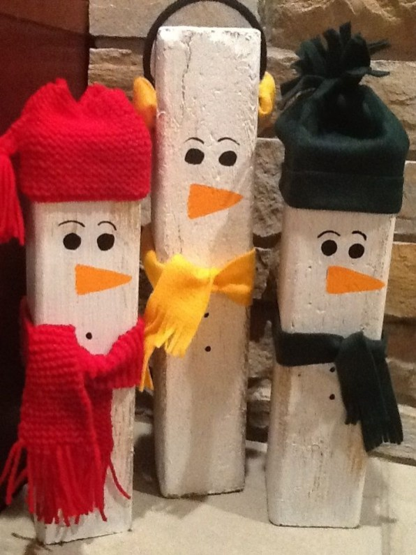 How To Make Amazing Snowman For Decorate Your Christmas Day 48