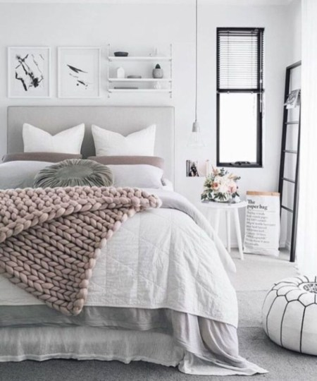 Interior Design For Your Bedroom With Scandinavian Style 01