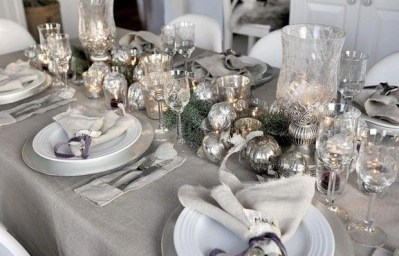 Luxury Christmas Table Decoration For Celebrating Christmas This Year 12