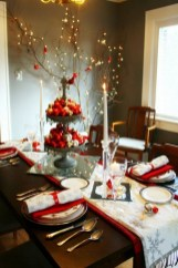 Luxury Christmas Table Decoration For Celebrating Christmas This Year 44