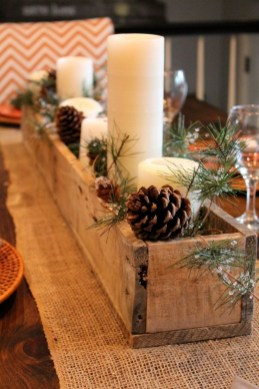 Tips To Make DIY Christmas Table Decorations 40