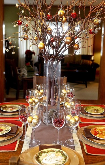Tips To Make DIY Christmas Table Decorations 43
